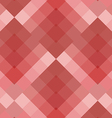 Red seamless pattern geometric squares vector image vector image