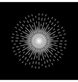 set of nine graphic elements of star burst vector image vector image