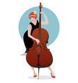 women orchestra-02 vector image vector image