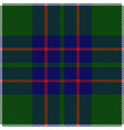 clan macintyre tartan plaid seamless pattern vector image vector image