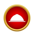 Cloche icon in simple style vector image vector image