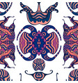 fantastic colorful abstract patterns seamless vector image
