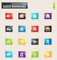 farm building bookmark icons