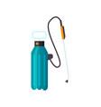 garden knapsack sprayer icon vector image