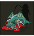 Gothic Story of War vector image vector image