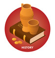 History vector image