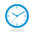 icon of a clock for website or mobile application vector image