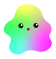 kawaii of a cute funny big vector image vector image