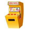 Big win slot machine with lucky sevens casino