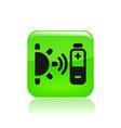 bioenergy icon vector image vector image