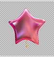 colour glossy helium balloons isolated on vector image vector image