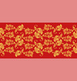 hohloma seamless pattern fabric texture vector image vector image
