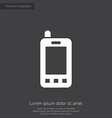 mobile phone remote premium icon vector image vector image