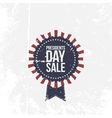 Presidents Day Sale national Label with Text vector image vector image
