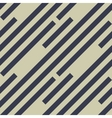 Seamless geometric pattern Stripy texture vector image