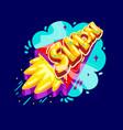simon name rocket vector image vector image