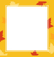 thanksgiving style for frame collection vector image vector image
