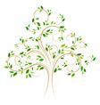 tree 4 vector image vector image