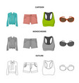 woman and clothing sign vector image vector image
