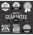 collection vintage business labels with popular vector image vector image