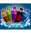 Energy drink design vector image vector image
