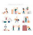 shopping people concept purchase vector image vector image