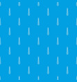 tie pattern seamless blue vector image