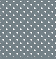 tile pattern with white polka dots on grey blue vector image vector image