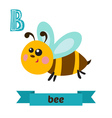 bee b letter cute children animal alphabet