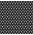 Black Scales Seamless Pattern Texture Stock vector image vector image