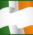 decoration of ireland insignia vector image