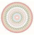 Ethnic mandala Tribal hand drawn line geometric vector image vector image