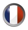 France flag emblem vector image