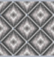modern geometric silver 3d seamless pattern vector image