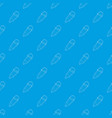 pencil pattern seamless blue vector image