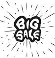 ready inscription big sale vector image