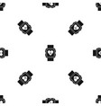smartwatch pattern seamless black vector image vector image