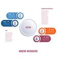 visualization business presentations modern vector image vector image