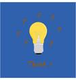 yellow bulbs tools icon vector image vector image