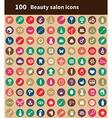 100 beauty salon icons