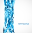 abstract blue background with vertical lines vector image vector image