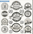 anniversary retro badges collection 50 years