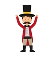Avatar man icon Circus and carnival design vector image