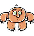 Funny cartoon monster vector image vector image