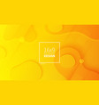 futuristic design yellow background templates for vector image vector image