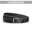 Leather Belt vector image