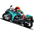 motorbikes vector image vector image