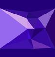 purple geometric backdrop vector image vector image