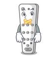 silent cartoon remote control of air conditioner vector image