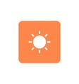solar symbol icon vector image